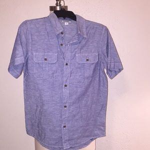 Boys Old Navy Linen shirt size large